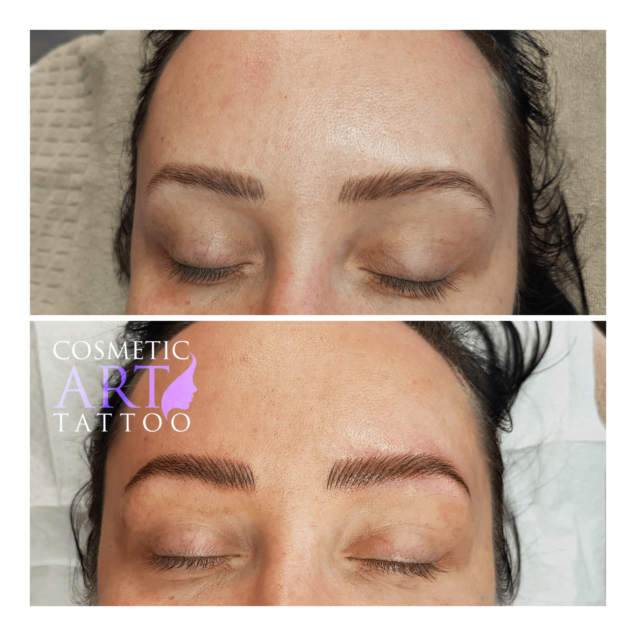 Feathering Brows